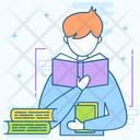 Lesson Book Education Icon