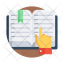 Book Reading Book Study Booklet Icon