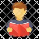 Book Reading Learning Novel Reading Icon