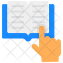 Book Reading Proofreading Read A Book Icon