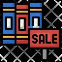 Book Sale Book Shop Book Store Icon