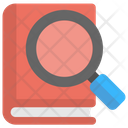 Book Search Finding Icon
