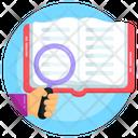 Book Explore Book Search Library Search Icon