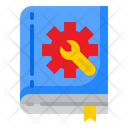 Support Book Setting Icon