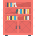 Book Drawer Library Icon