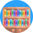 Books Book Shelf Book Shelves Icon