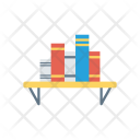 Book Shelf Table Icon