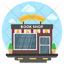 Bookshop Library Library Building Icon