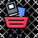 Book Shopping Icon