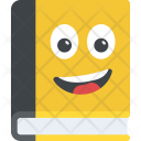 Book Smiley Icon