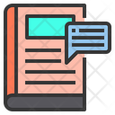 Book speech Icon
