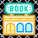 Book Shop Building Icon