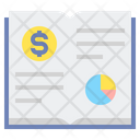 Book Value Investing Pie Chart Icon