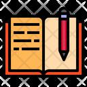 Book Edit Pen Icon