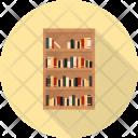 Bookcase Property Interior Icon
