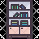 Bookcase Book Shelf Shelf Icon