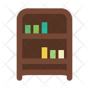 Bookcase Book Library Icon