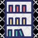Bookcase Books Furniture Icon