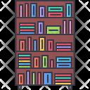Bookcase Book House Icon