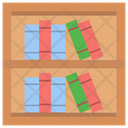Bookcase Bookshelf Books Rack Icon