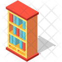 Bookcase Bookshelf Storage Icon
