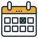 Booked Date Calendar Icon