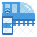 Booking Ticket Train Icon