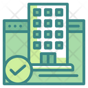 Booking Hotel Booked Icon
