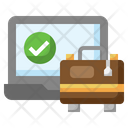 Booking Online Bag Icon