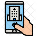 Booking Hospital Reservation Icon