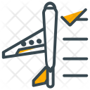 Booking Flight Airport Icon