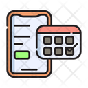 Booking App Mobile Internet Icon