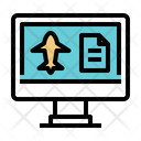 Booking Flight Icon