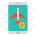 Booking Flight Ticket Icon