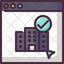 Booking Holiday Hotel Icon