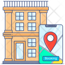 Booking Hotel Reserve Motel Booking Resort Icon