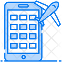 Booking Service Mobile Booking Online Booking Icon
