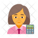 Bookkeeper Business Calculator Icon