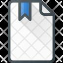 Bookmark Paper File Icon