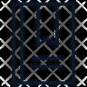 Bookmark List Recent Icon