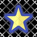 Fill Star Bookmark Icon
