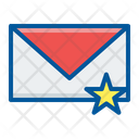 Bookmark Email Star Icon