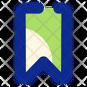 Bookmark Save Ribbon Icon