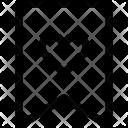 Bookmark Tag Label Icon