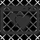 Bookmark Favourite Heart Icon