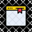 Webpage Bookmark Internet Icon