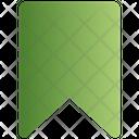 Sign Ribbon Bookmark Icon