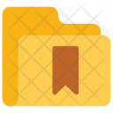 Bookmark Folder Data Icon