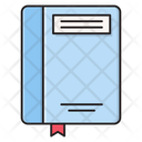 Bookmark Book Stationary Icon