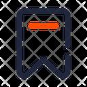 Bookmark Ribbon Ui Icon Icon